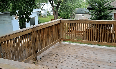 Patio / Deck, 313 Green St, 2