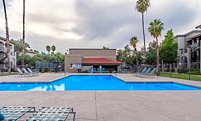 Pool, Canyon Oaks, 1