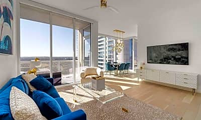 Living Room, 301 West Ave 1508, 0