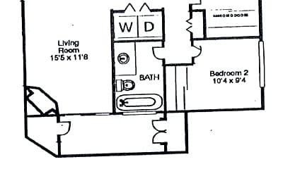 Building, 1094 S Dearborn St, 1