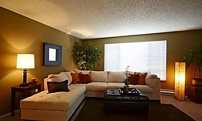 Living Room, Boulder Creek Apartments, 1