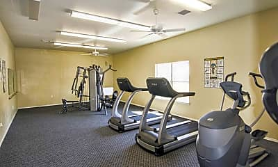 Fitness Weight Room, Cambria, 2