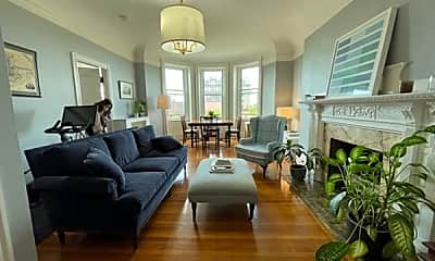 Living Room, 362 Commonwealth Avenue 5B, 1