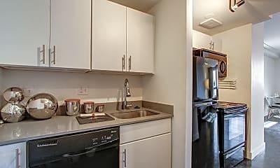 Kitchen, Town Residences, 1
