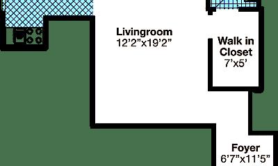Living Room, 550 Parkview Dr, 2