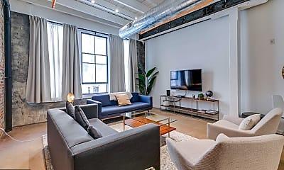 Living Room, 204 S Delhi St 1, 1
