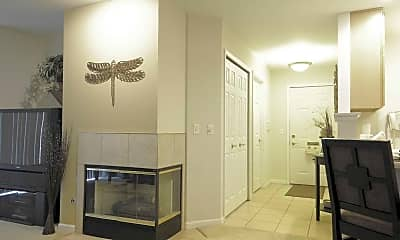 Living Room, Embassy Place At White Oak Estates, 2