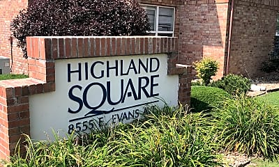 Highland Square Apartments, 1