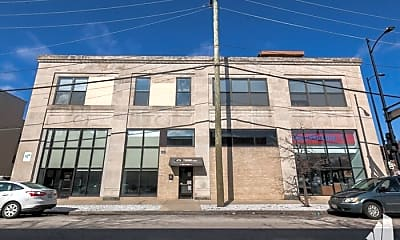 Building, 100 S Ashland Ave, 1