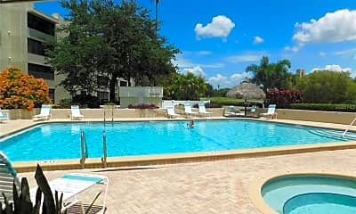 Pool, 2617 Cove Cay Dr 602, 2