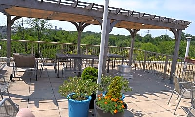 Patio / Deck, 4600 Connecticut Ave NW 801, 2