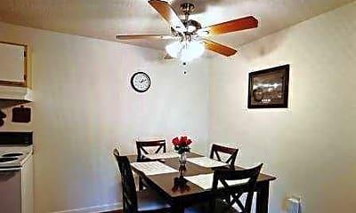 Dining Room, Breckenridge Apartments, 1