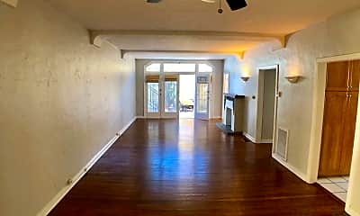 Living Room, 7733 Hampton Ave, 0
