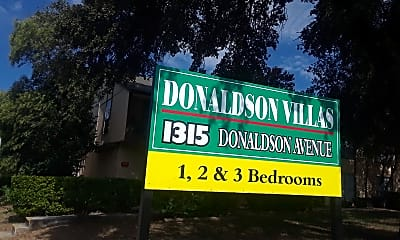 Donaldson Villas, 1