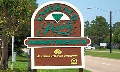 Community Signage, Emerald Point Apartments, 2