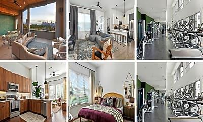 Living Room, 4410 Ross Ave, 0