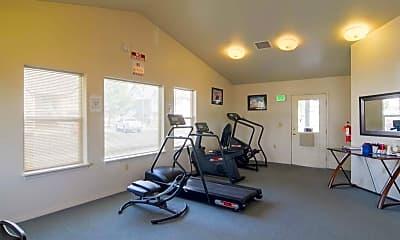 Fitness Weight Room, Mesa Village, 1