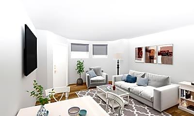 Living Room, 56 Queensberry Street, Unit G4, 0