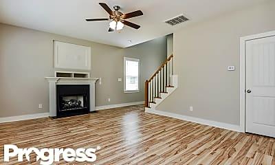 Living Room, 62 Wood Green Drive, 1