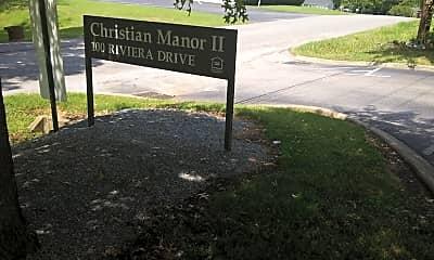 Christian Manor II, 1