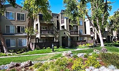 Building, eaves Pleasanton, 2