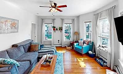 Living Room, 38 Bond Street, Unit 1R, 0