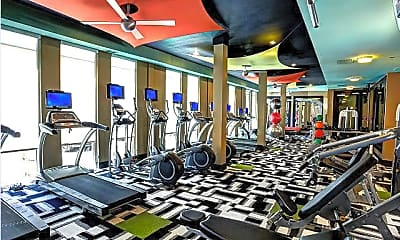Fitness Weight Room, 2660 N Haskell Ave, 2