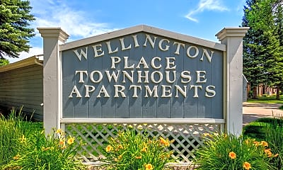Community Signage, Wellington Townhomes, 2