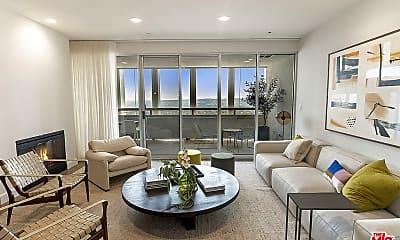 Living Room, 5670 Wilshire Blvd PH1, 0