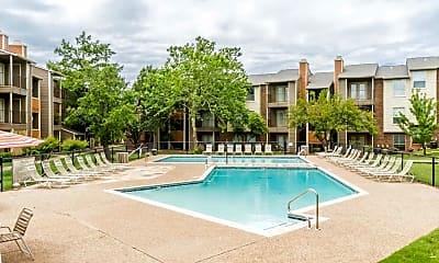 Pool, Bluff Creek, 0