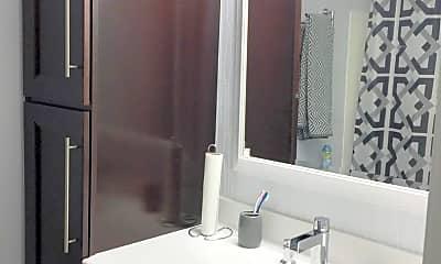 Bathroom, 650 The Village, 2