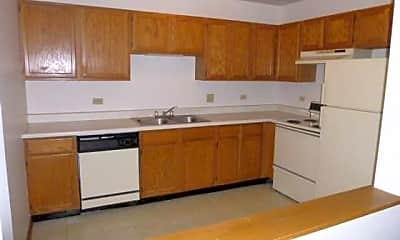 Kitchen, Prairie View Apartments, 0