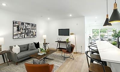 Living Room, 25 W Hortter St 313, 1