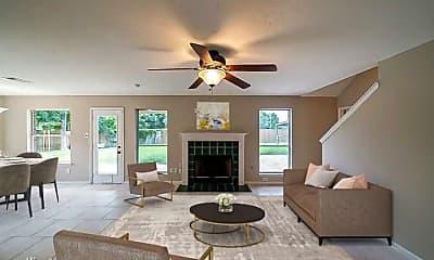 Living Room, 3603 Oak Hollow Dr N, 1