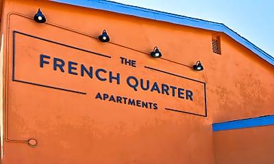 Community Signage, The French Quarter, 2