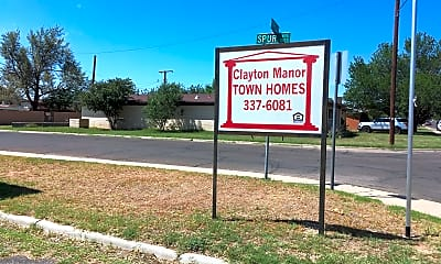 Clayton Manor Townhomes and Corporate Suites, 1