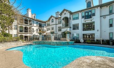 Pool, The Carlton Apartments, 0