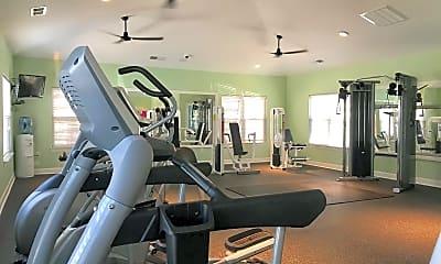 Fitness Weight Room, Silvana Oaks, 2