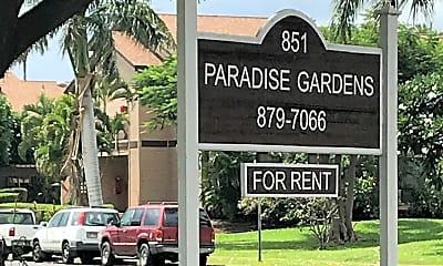 Paradise Gardens Apartments, 1