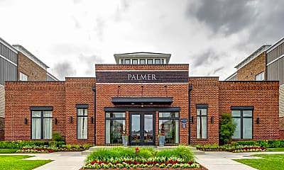 Building, Palmer House New Albany, 1