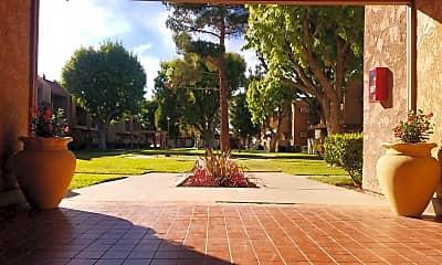 Courtyard, Villa Sierra, 0