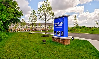 Community Signage, Wheatland Crossing Senior Apartments, 2