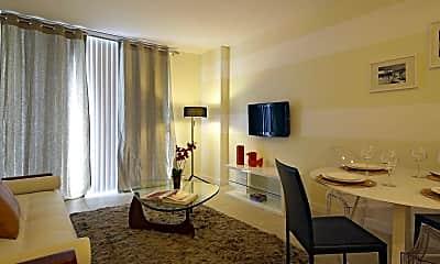 Living Room, River Oaks Marina & Tower, 1