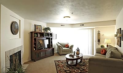 Living Room, The Falls at Canyon Rim, 1