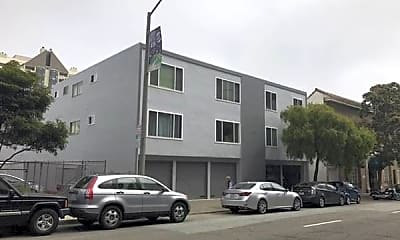 Building, 1350 Golden Gate Ave, 1
