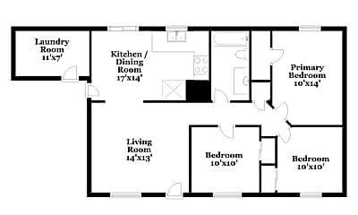 Building, 6660 S Draper Rd, 1