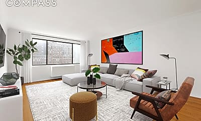 Living Room, 211 W 71st St 8-C, 0