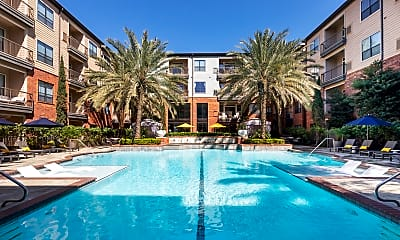 Pool, West 18th Lofts, 1