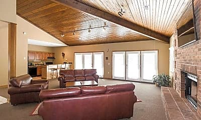 Clubhouse, Country Shores Apartments, 2