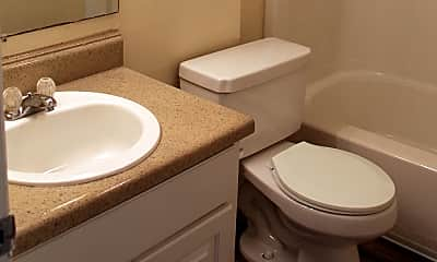 Bathroom, Timberchase Apartments, 2